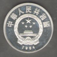 CHINA 5 YUAN TERRACOTTA ARMY 1984 PROOF AG SILVER - Chine