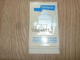 Vitkovice Narodni Podnik Zelezarny A Strojirny Klementa Gottwalda Kofferanhänger Luggage Tag Hotel Label Hotel-Aufkleber - Hotel Labels