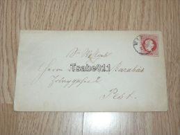 Wien Pest ~1870 ? Hungary Budapest Austria Hülle - Usati