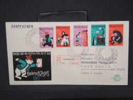 PAYS BAS - Détaillons Collection De Série Sur Premier Jour - Lot N° 6298 - FDC