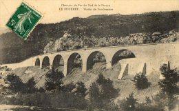 LE FUGERET VIADUC DE FONTBOUISSE (TRAIN DES PIGNES) 1912 (LOT T15) - Castellane