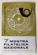 """Mostra Filatelica Nazionale """" La Scienza E La Tecnica """" 03/12/1967 - Manifestazioni"""