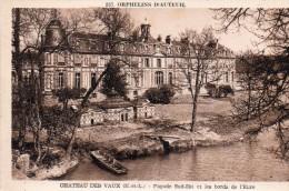 28 Chateau Des Vaux Orphelins D´Auteuil Facade Sud Est Et Les Bords De L'Eure - France