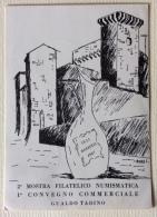 2a Mostra Filatelico Numismatica 1 Covegno Gualdo Tadino Illustrata L. Anna - 13-15 Agosto 1967 - Manifestaciones