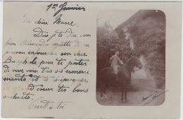 24990g  CAVALIER - Iseghem - 1904 - Carte Photo - Izegem