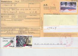 ITALIA-USA - Ricevuta Ritorno Internazionale - Molto Bella - 2011-...: Storia Postale