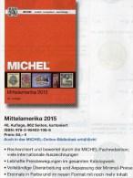 Mittel-Amerika Band 1 Teil II Michel Katalog Ü 1/2 Briefmarken 2015 Neu 84€ Mexiko Panama Honduras Guatemala Costa Rica - Duits