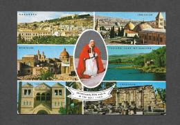 RELIGIONS - CHRISTIANISTE - PAPES - PAUL VI - VISITE DU SAINT PÈRE - POPES - OBLITÉRÉE UNITED NATIONS - Papes