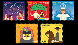Portugal 2012 - Traditional Portuguese Festivities Stamp Set Mnh - Fiestas