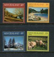 New Zealand Scott #748-51 Mint Never Hinged - New Zealand