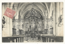 Cp, 10, Dienville, Grille En Fer Du Clocher De L'Eglise, Voyagée 1905 - Other Municipalities