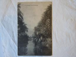LIBIA ITALIANA--UN PAESAGGIO DELLA CIRENAICA POSTA MILIATARE IV DIVISIONE RARA 1912 - Libia