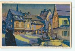 PHOSCAO Le Petit Déjeuner Reconstituant - Ville De COLMAR Par Illustrateur - 2 Scans - Advertising