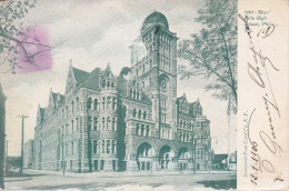 Estados Unidos--1906--Philadelphia--Boys New Hogh Shool--Fechador--Philadelphia-a Paris,Francia - Escuelas