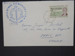 CANADA- Enveloppe Avec Cachet ST Paul RC Mission Baker Lake  Pour La France  LOT P4630 - 1952-.... Regno Di Elizabeth II