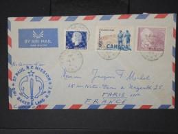CANADA- Enveloppe Avec Cachet ST Paul RC Mission Baker Lake  Pour La France  LOT P4631 - 1952-.... Regno Di Elizabeth II