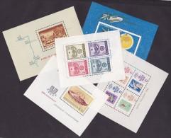 Hongrie BF N°54/58 - 5 BF  - Neufs ** - Superbe - Blocks & Sheetlets