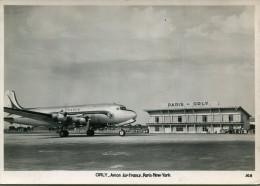 AVIATION(ORLY) AIR FRANCE(PARIS_NEW YORK) - 1946-....: Ere Moderne