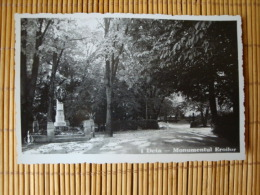 Deta, Monumentul Eroilor, Ungelaufen ! - Rumänien