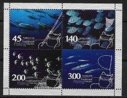 TOKELAU ISLANDS 2015 FISHING M/S MNH