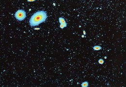Postcard, Astronomy, Virgo Cluster Of Galaxies - Sterrenkunde