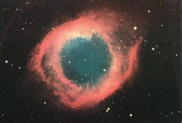 Postcard, Astronomy, Helix, NGC 7293 - Sterrenkunde