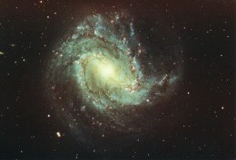 Postcard, Astronomy, Spiral Galaxy Messier 83, NGC 5236 - Sterrenkunde