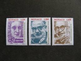 Monaco:  TB Serie N° 2499 Au N° 2501 . Neufs XX. - Nuovi