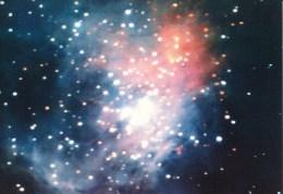 Postcard, Astronomy, Orion Nebula In  Infrared - Sterrenkunde