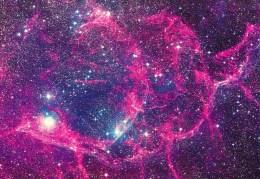 Postcard, Astronomy, The Velva Supernova Remnant - Sterrenkunde
