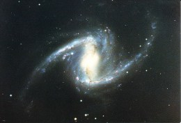 Postcard, Astronomy, Barred Spiral In Fornax, NGC1365 - Sterrenkunde