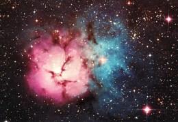 Postcard, Astronomy, The Trifid Nebula, M20 - Sterrenkunde