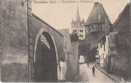 Kestenholz (Els) Hexenturm U. Kirchturm - Chatenois