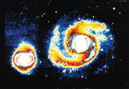 Postcard, Astronomy, Supernoinfrared Image Of The Whirlpool Galaxy, M51 - Sterrenkunde