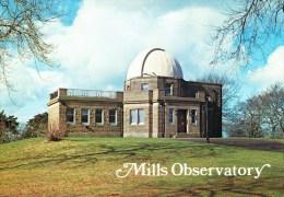Postcard, Astronomy, Mills Observatory - Sterrenkunde