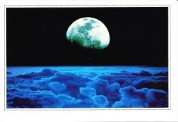 Postcard, Astronomy, Moon - Sterrenkunde