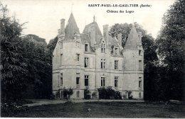 72  SAINT PAUL LE GAULTIER  -  CHATEAU DES LOGES - Andere Gemeenten