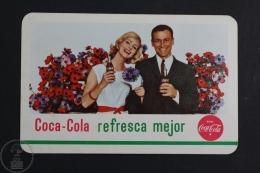 Advertising Coca Cola Pocket Calendar 1963 Spain - Edited: Heraclio Fournier Vitoria, Spain - Petit Format : 1961-70