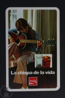 Advertising Coca Cola Pocket Calendar 1971 Spain - Edited: Heraclio Fournier Vitoria, Spain - Tamaño Pequeño : 1971-80