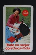 Advertising Coca Cola Pocket Calendar 1969 Spain - Edited: Heraclio Fournier Vitoria, Spain - Tamaño Pequeño : 1961-70