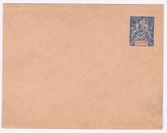 C4. Réunion. Type Groupe. Entier Postal Neuf. Env 25c Bleu - St.Pierre Et Miquelon