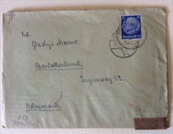 Feldpost Gotenhafen ( Polonia) Timbro Retro Aperto Censura Oberkommando - Documenti
