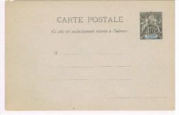 C4. St-Pierre Et Miquelon. Type Groupe. Entier Postal Neuf. CP 10c - St.Pierre Et Miquelon