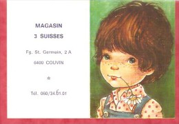 1984 -  Magasin 3 Suisses - 6400 Couvin - Calendriers