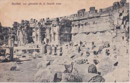 Libano --Baalbeck--Vue Generale De La Grande Coeur - Líbano