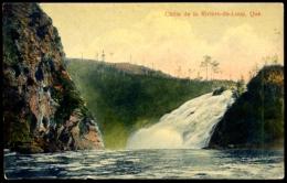 LA CHUTE DE LA RIVIERE-DU-LOUP.- Fraserville - Quebec
