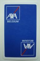 Joker AXA Belgium. - Playing Cards (classic)