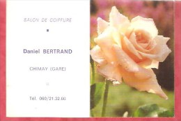 1985 - Salon De Coiffure Daniel Bertrand - Chimay (Gare) - Calendriers