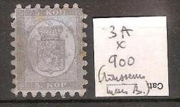 Finlande 3A *  Côte 900 € ( Quelques Rousseurs Mais Bien ) - 1856-1917 Administration Russe