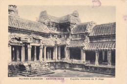 Camboya--Angkor--Courete Interieure Du 3º Etage - Camboya